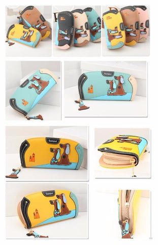 Cute Puppy Cartoon Wallet