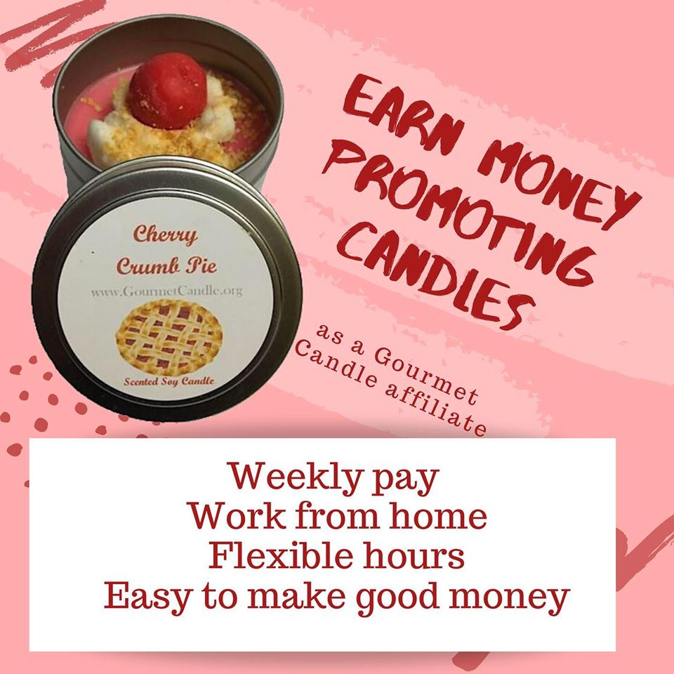 Join Gourmet Candle's Affiliate Program and Make Easy Money