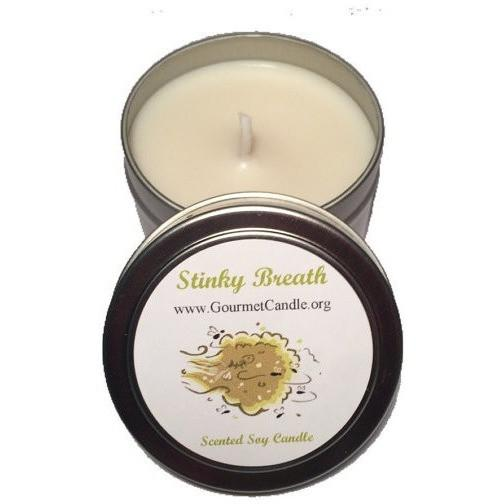 Gifts for Women, Gift Ideas, Unique Gifts LIMITED EDITION: Stinky Breath Candle - Gourmet Candle