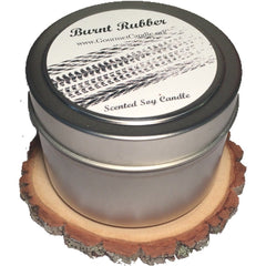 Gifts for Women, Gift Ideas, Unique Gifts Rustic Wooden Candle Coaster - Gourmet Candle