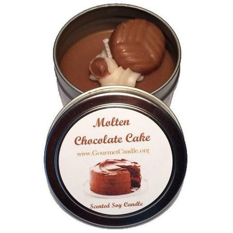Gifts for Women, Gift Ideas, Unique Gifts Molten Chocolate Cake Candle - Gourmet Candle