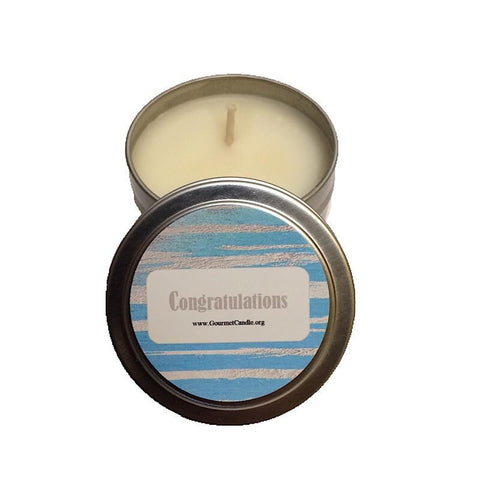 Gifts for Women, Gift Ideas, Unique Gifts Congratulations Candle - Gourmet Candle