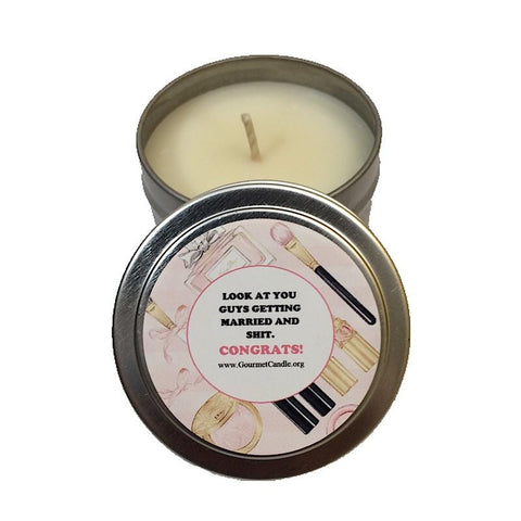 Gifts for Women, Gift Ideas, Unique Gifts Getting Married Candle - Gourmet Candle