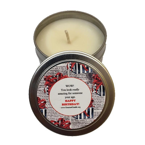 Gifts for Women, Gift Ideas, Unique Gifts Someone Your Age Birthday Candle - Gourmet Candle