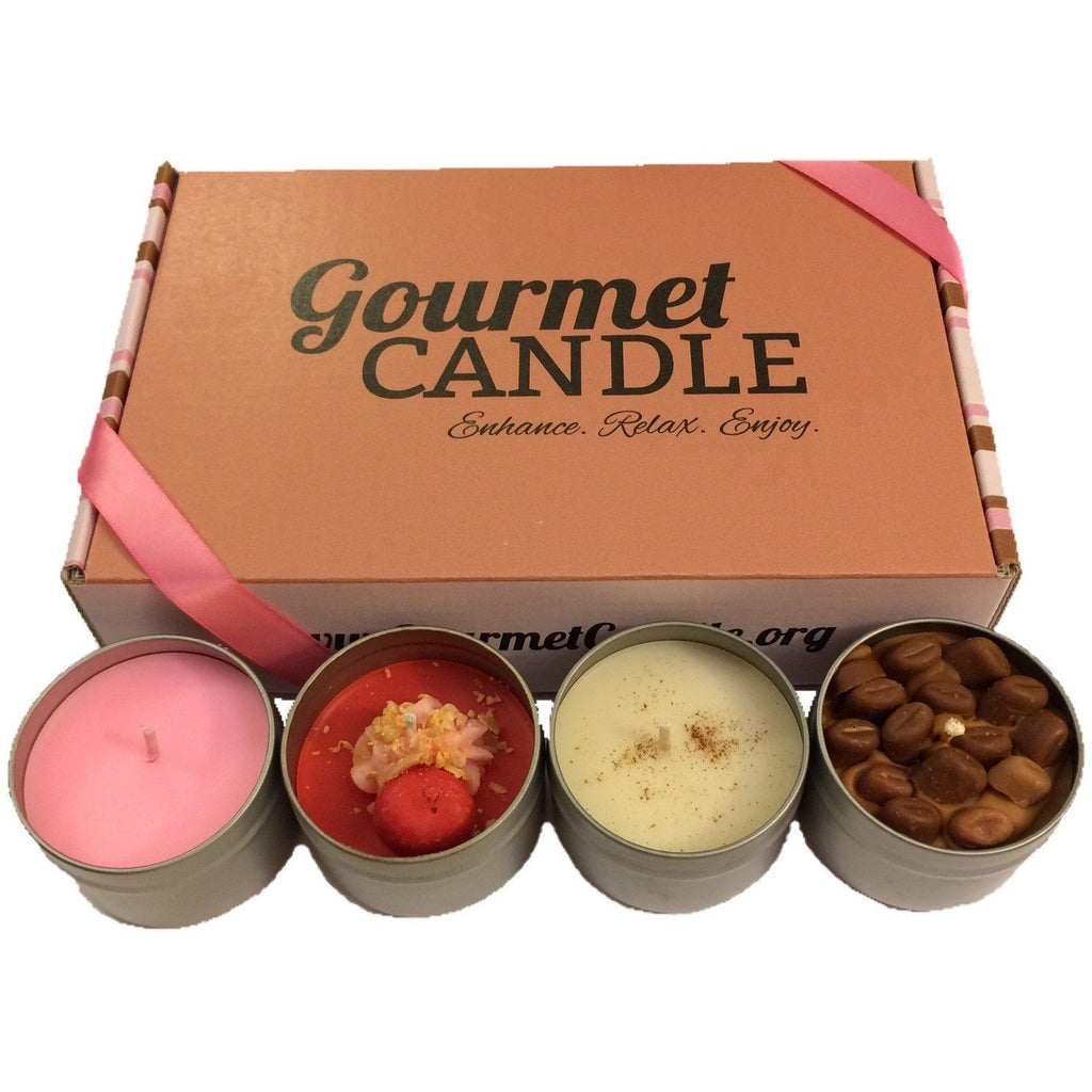 Gifts for Women, Gift Ideas, Unique Gifts Month to Month Candle Tin Subscription Box - Gourmet Candle