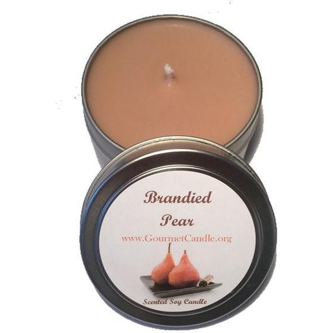 Gifts for Women, Gift Ideas, Unique Gifts Brandied Pear Candle - Gourmet Candle