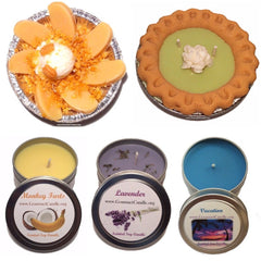 Gifts for Women, Gift Ideas, Unique Gifts Vanilla Rose Candle - Gourmet Candle