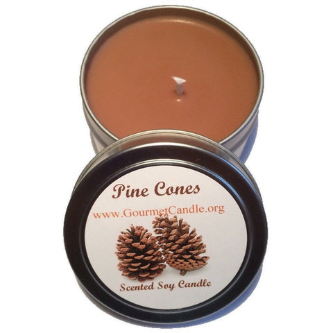 Gifts for Women, Gift Ideas, Unique Gifts Pine Cone Candle - Gourmet Candle