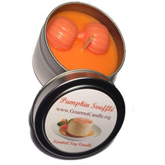 Gifts for Women, Gift Ideas, Unique Gifts Pumpkin Souffle Candle - Gourmet Candle