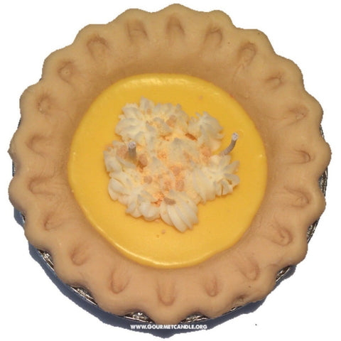 Gifts for Women, Gift Ideas, Unique Gifts Lemon Meringue Pie Candle - Gourmet Candle