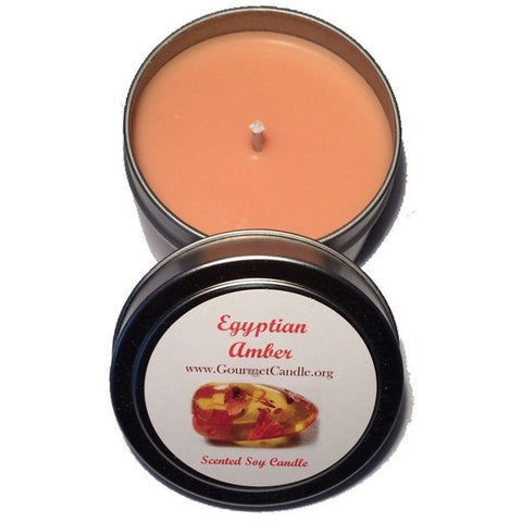 Gifts for Women, Gift Ideas, Unique Gifts Egyptian Amber Candle - Gourmet Candle