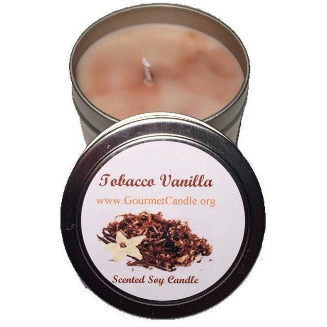 Gifts for Women, Gift Ideas, Unique Gifts Tobacco Vanilla Candle - Gourmet Candle