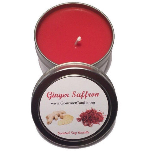 Gifts for Women, Gift Ideas, Unique Gifts Ginger Saffron Candle - Gourmet Candle