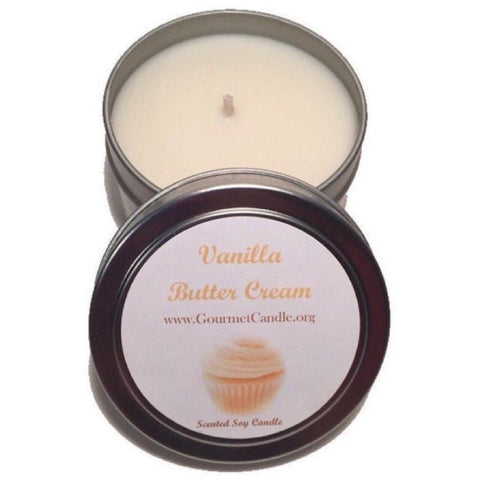 Gifts for Women, Gift Ideas, Unique Gifts Vanilla Buttercream Candle - Gourmet Candle