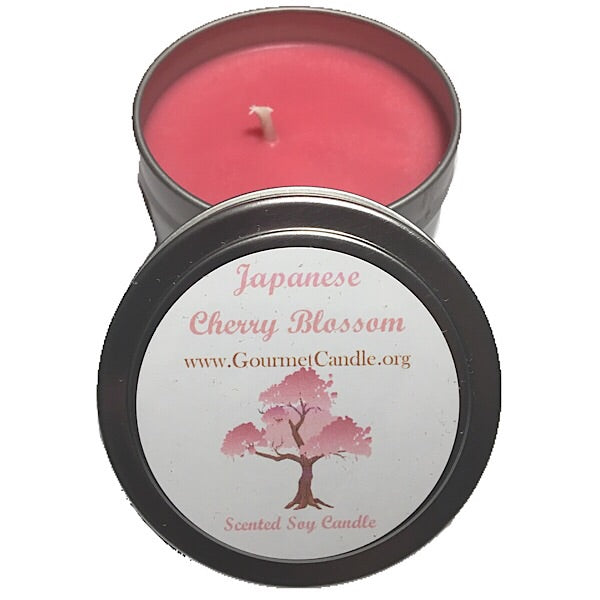 Japanese Cherry Blossom Candle.