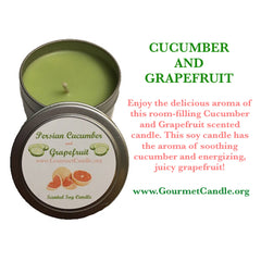 Cucumber and Grapefruit - NEW!