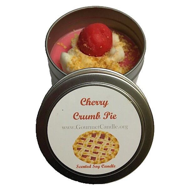 Cherry Crumb Pie Candle
