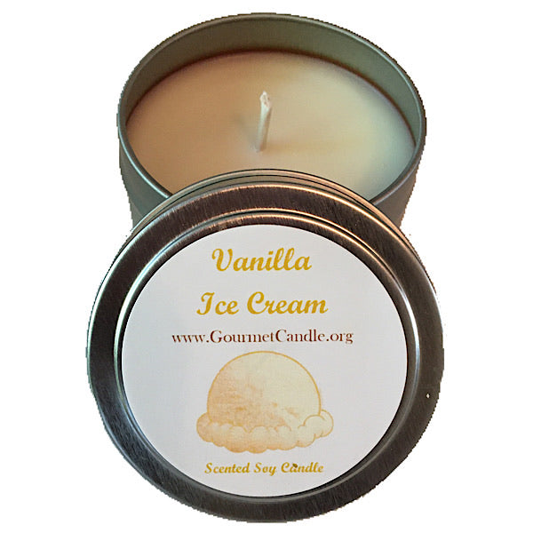 Vanilla Ice Cream Candle - NEW