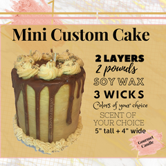 Create Your Own Cake Candle