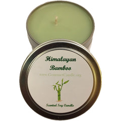 Gifts for Women, Gift Ideas, Unique Gifts Himalayan Bamboo - Gourmet Candle