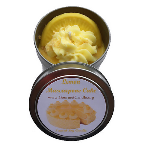 Lemon Mascarpone Cake Candle - NEW!