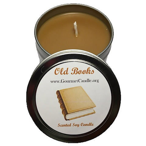 Old Books Candle - NEW!
