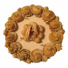Almond Amaretto Cake -  1 Layer Cake
