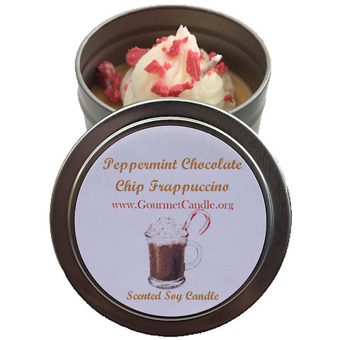Peppermint Chocolate Chip Frappuccino Candle - NEW