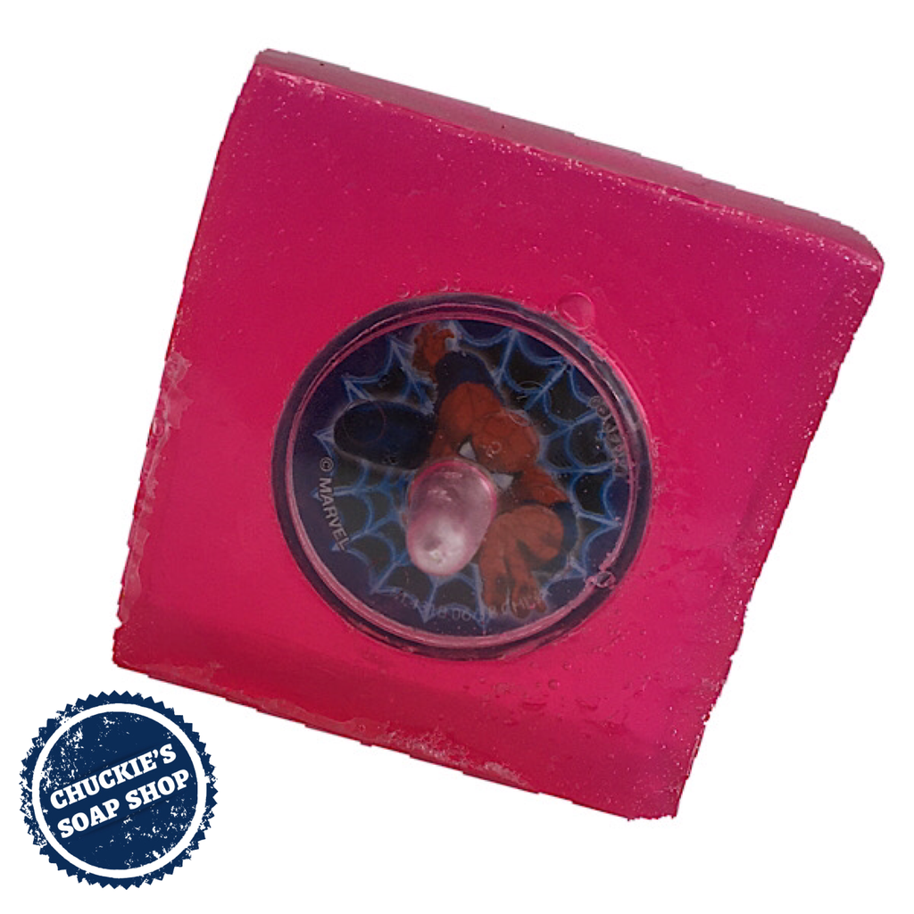 Joy | Spider Man Spin Soap: Grapefruit Mint