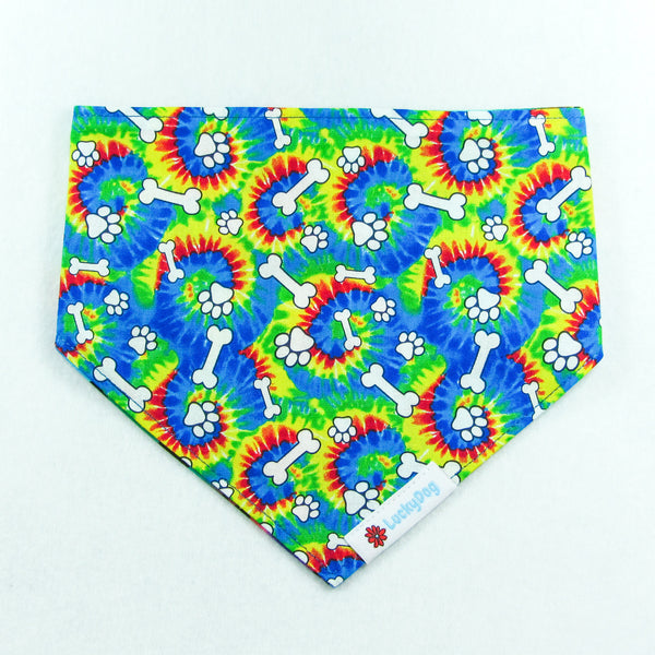 Colourful Tie Dye Bandana