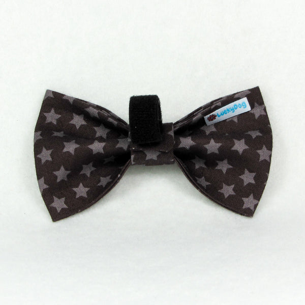 Stars Brown Bow Tie