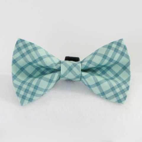 Cross Checks Green Bow Tie