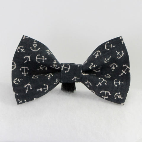 Anchors Navy Bow Tie