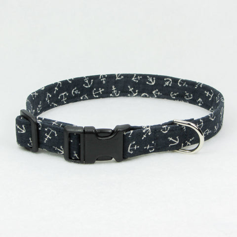 Anchors Navy Collar