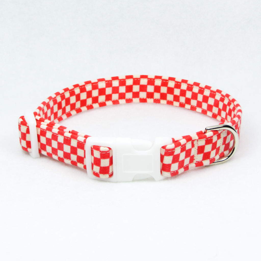 Checkers Red Collar