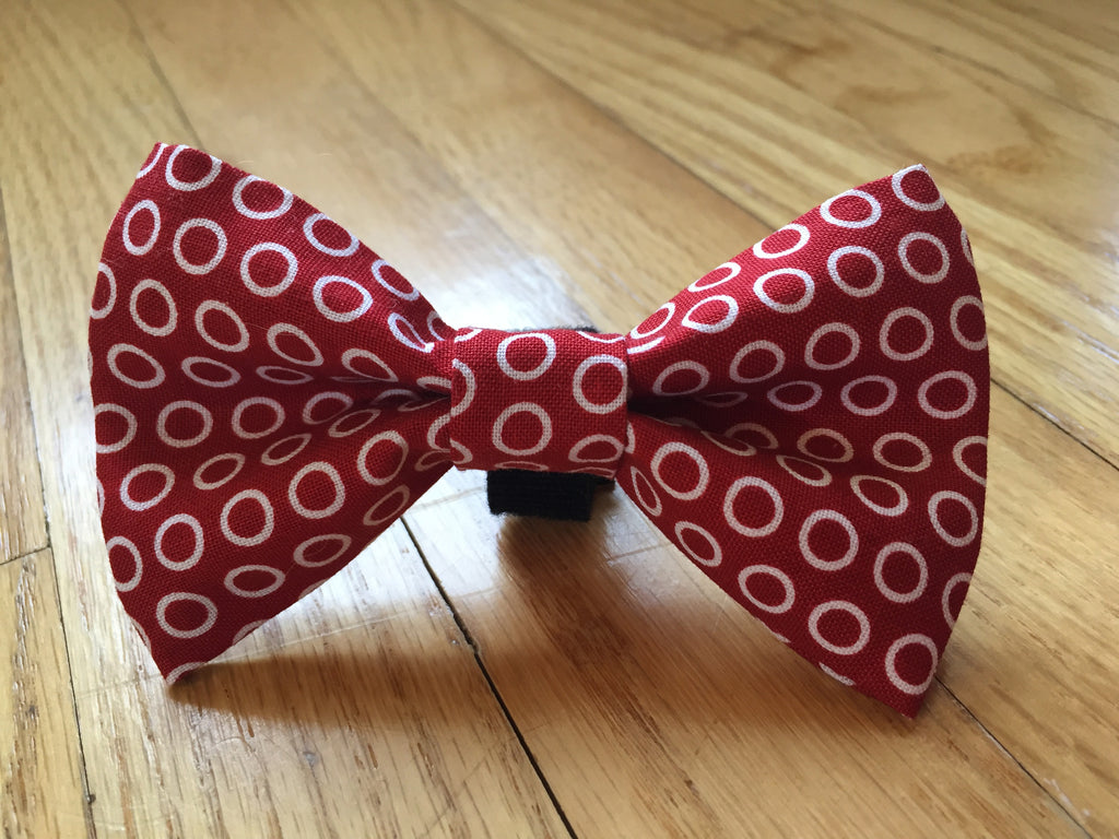 Classy Red Bow Tie
