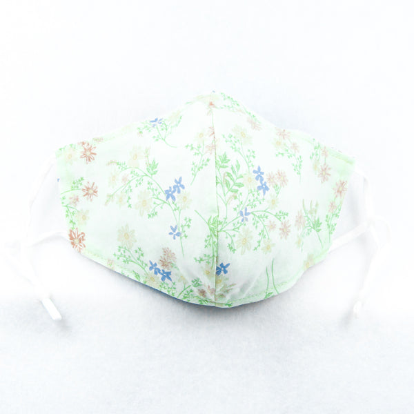Pretty Flowers Face Mask