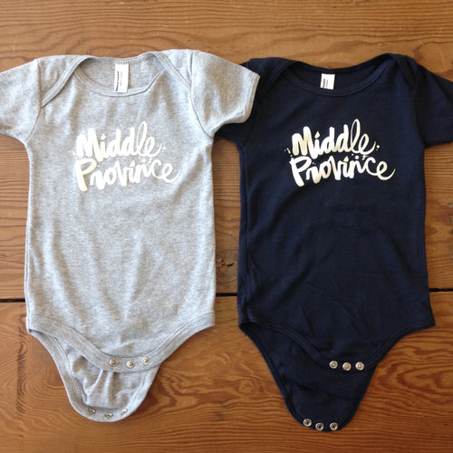 Middle Province Infant Onesie