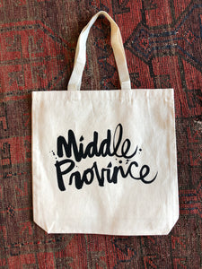 Middle Province x KB Script Tote