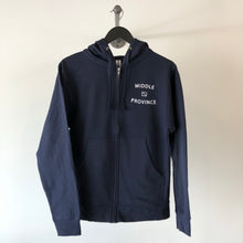 Load image into Gallery viewer, Middle Province Zip-Up Hoodie