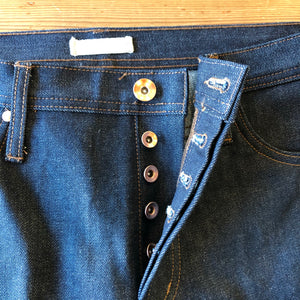 The Unbranded Brand UB201 Tapered Fit 14.5oz Indigo Selvedge Denim