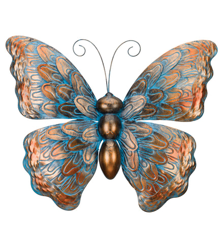 Patina Butterfly Wall Decor