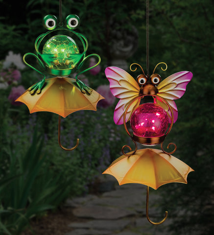 Umbrella Solar Lantern - Butterfly