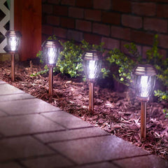 Charleston 6pack Solar Lights - Copper