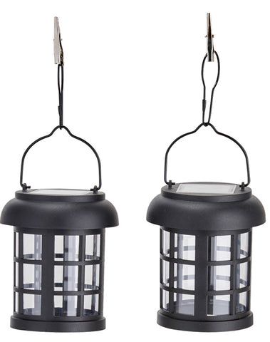Umbrella Hanging Solar Lanterns - 2 pack