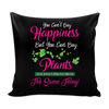 Image of Pillow Cover - You Can't Buy Happiness