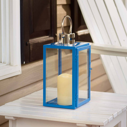 Nemo LED Candle Lantern - Blue