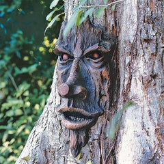 The Spirit of Nottingham Woods: Greenman Tree Sculpture