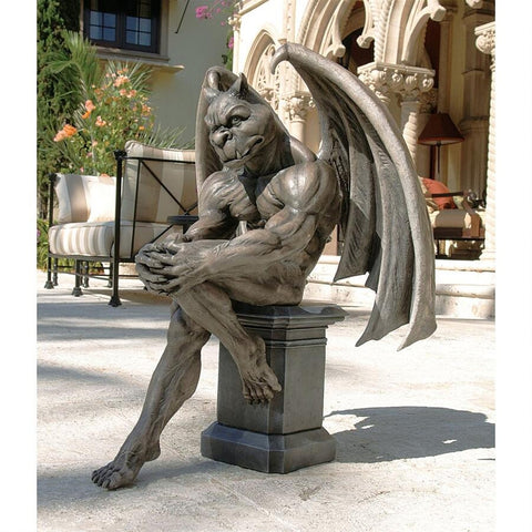 Socrates, the Gargoyle Thinker Statue