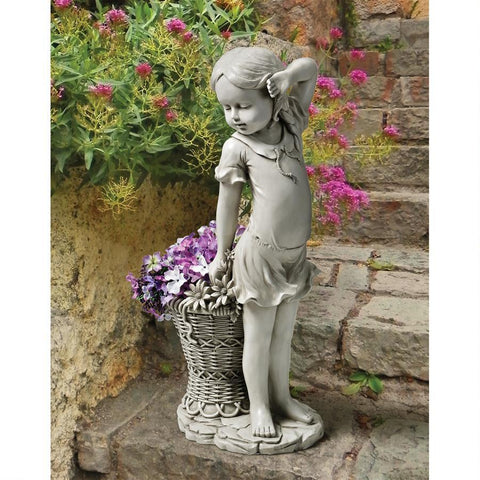 Frances, the Flower Girl Statue